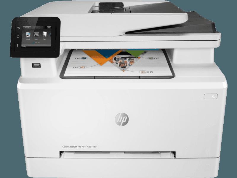 惠普 HP LaserJet Pro M281fdw彩色多功能一体机